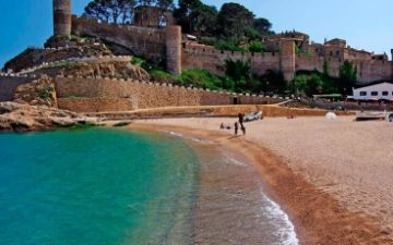 Castle Tossa Beach